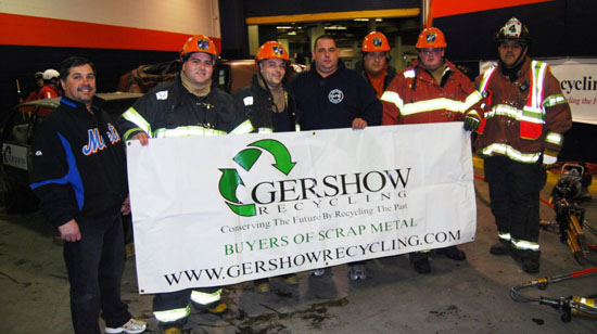 Gershow Recycling Donates 15 Used Cars for Annual Extrication Competition