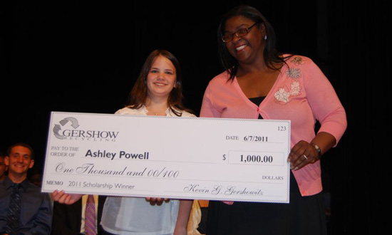 Gershow Recycling Grants Scholarship to Longwood High School Student