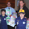 Gershow Recycling Donates Recycling Activity Books to Boy Scout Pack #438