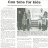 Can Tabs for Kids Featured in Long Island Advance