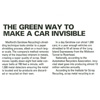 Long Island Business News' Green Guide: The Green Way to Make a Car Invisible