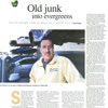 Long Island Business News' Green Guide: Old Junk into Evergreens
