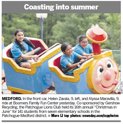 Coasting into Summer Newsday