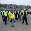 Suffolk Community College Industrial Safety Engineering Students Learn Safety at Gershow Recycling