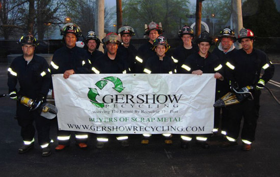 Gershow Recycling Donates Vehicle to Blue Point FD for Extrication Exercise