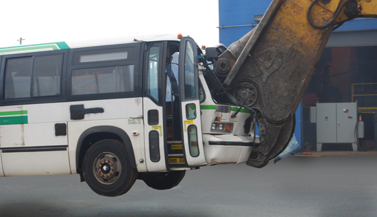 Gershow Recycling Corp. Recycles Over 100 NYC Buses