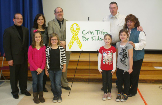 Gershow Recycling, Kreamer Street Elementary School Kick Off Can Tabs for Kids Program