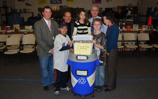 Gershow Recycling Supports Can Tabs for Kids