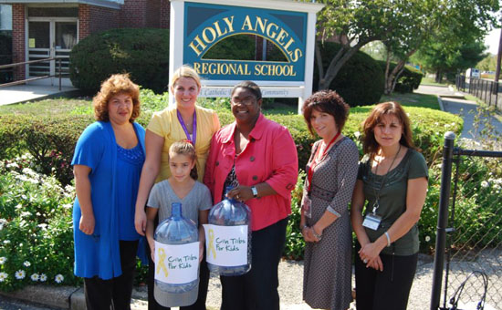Gershow Recycling Helps Holy Angels Regional School Kick Off Can Tabs for Kids Program