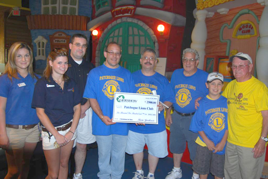 Gershow Recycling Sponsors Patchogue Lions Christmas in June for 120 Local School Children