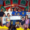 "Patchogue Lions Club Hosts ""Christmas in June"" for Local School Children at Boomer's Family Fun Center"