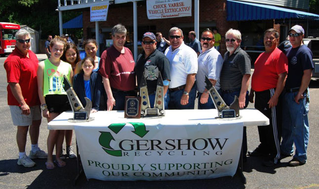 Gershow Recycling Donates 60 Vehicles to Fifth Annual Chuck Varese Vehicle Extrication Tournament