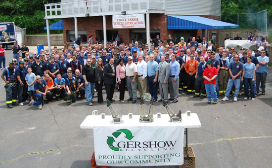 Gershow Recycling Donates 30 Vehicles to Third Annual Chuck Varese Vehicle Extrication Tournament