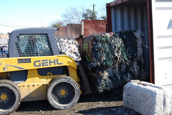Gershow Recycling Collects 50,000 Lbs. of Holiday Lighting, Ships to Overseas Markets