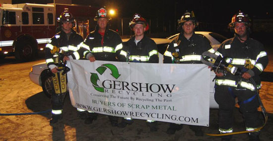 Gershow Recycling Hosts Cold Spring Harbor Fire Department's Extrication Exercise at Its Huntington Station Facility