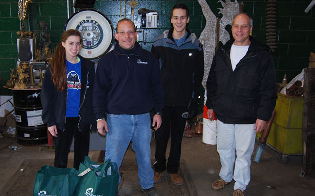 Gershow Recycling Donates Aluminum Scrap to Plainview-Old Bethpage Robotics Team