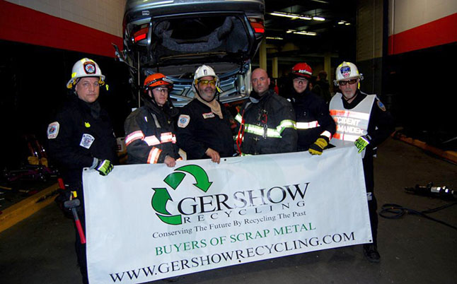 Gershow Recycling Donates 12 Used Cars for Annual Extrication Competition