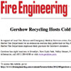 Gershow Recycling Hosts Cold Spring Harbor Fire Department