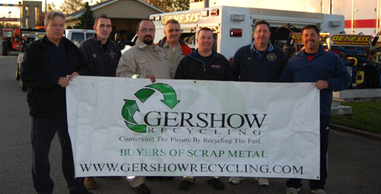 Gershow Recycling Gives 32 Cars to North Merrick Fire Department for Gone in Six Hours