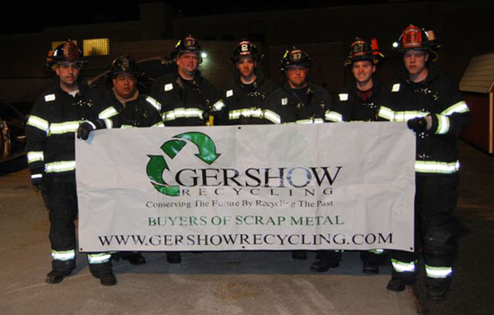 Gershow Recycling Donates Three Vehicles to Holbrook Fire Department for Its Extrication Training Exercise