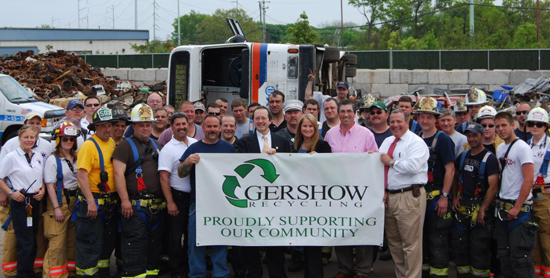 Gershow Recycling Hosts Multi-Departmental Rescue  Training Exercise At Huntington Station Facility