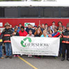 Gershow Recycling Donates Use of Passenger Bus for Mass Casualty Drill