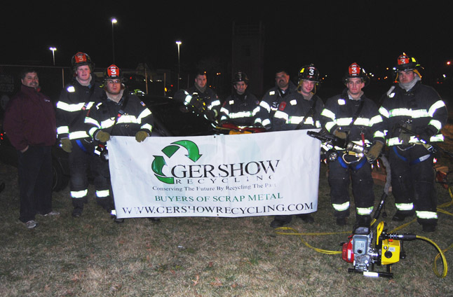 Gershow Recycling Donates Three Vehicles to Merrick FD for Extrication Exercise