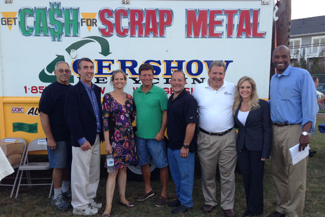 "Gershow Recycling Supports Local Community Building Efforts at ""National Night Out"" Event"