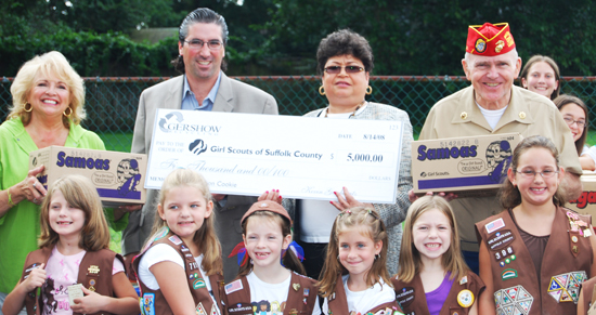 Gershow Recycling Supports Girl Scouts' Operation Cookie