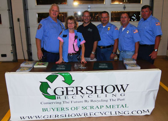 Gershow Recycling Supports Patchogue-Medford Community at Medford FD's Fire Prevention Open House