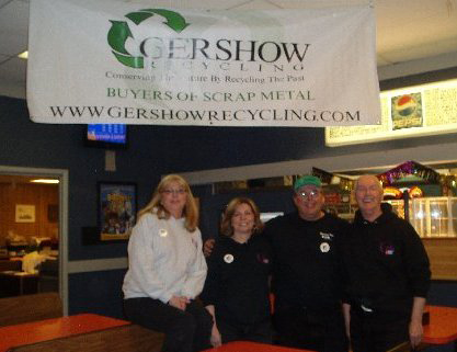 Gershow Recycling Supports Patsy's Gang with  $1,250 Donation to American Cancer Society