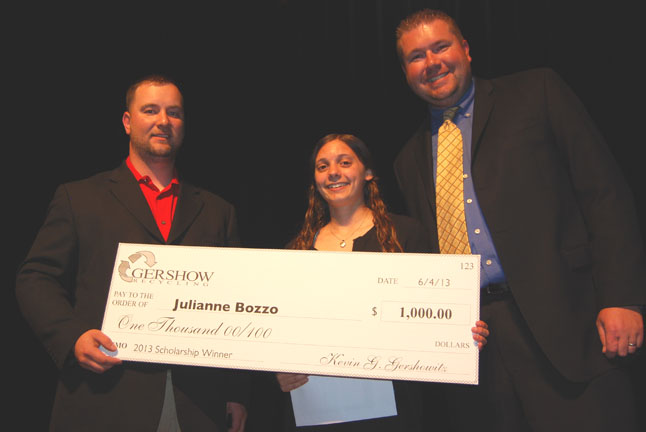 Gershow Recycling Grants Scholarships to Local Graduating High School Students