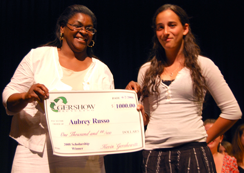 Gershow Recycling Grants Scholarships to South Country Student