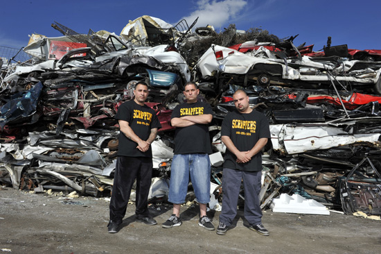 Gershow Recycling's Brooklyn Facility to Appear on  August 3 Episode of Spike TV's Scrappers