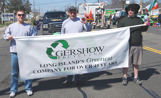 Gershow Recycling's Wearing of the Green at St. Patrick's Day Event