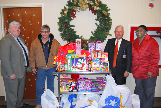 Brookhaven Memorial Hospital Medical Center Toy Drive