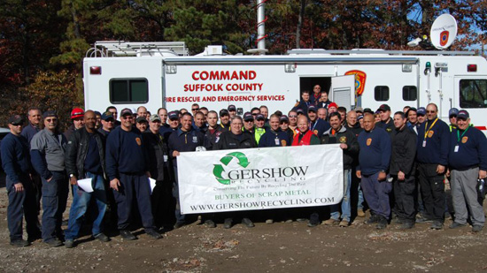 Gershow Recycling Hosts Urban Search and Rescue Training Exercise at Its Medford Facility