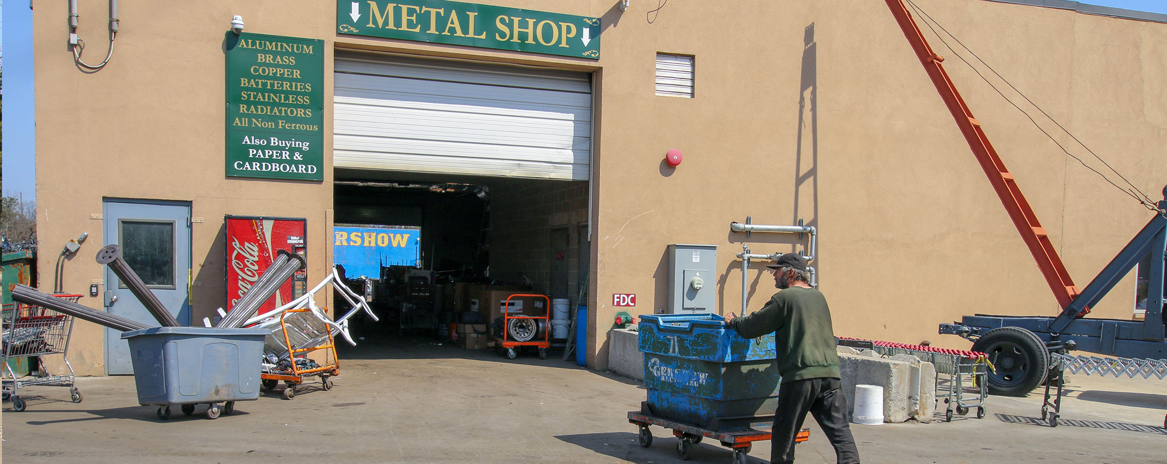 Gershow Recycling, Welcome to Gershow Recycling, Buyers and Sellers of Scrap Metal
