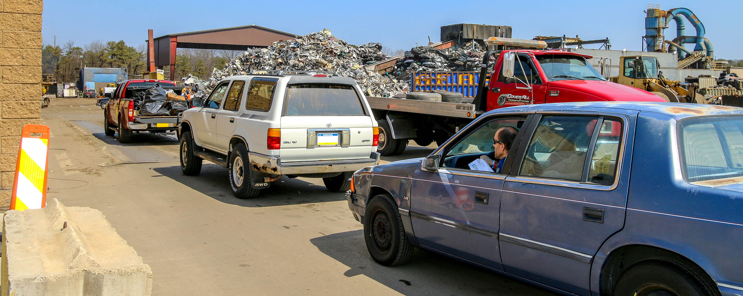 Gershow Recycling Facility Buy Sell Scrap Metal Junk Cars Copper