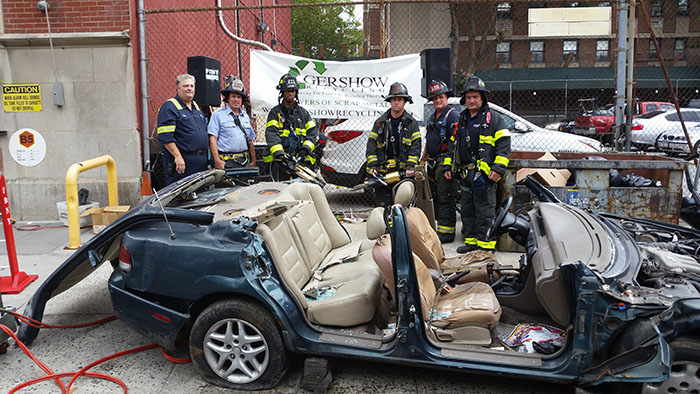 , Gershow Donates Use of Vehicle for New York City Fire Department's 150th Summer Block Party
