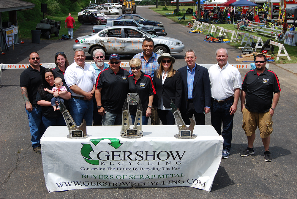 , Gershow Recycling Donates the Use of 30 Cars for  Ninth Annual Chuck Varese Vehicle Extrication Tournament