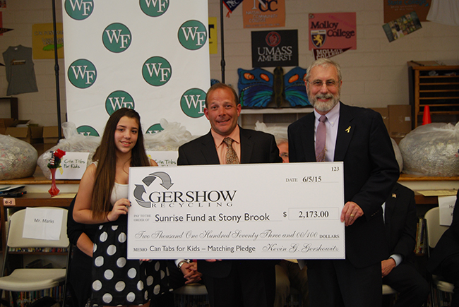 , Gershow Recycling's Can Tabs for Kids Program Raises