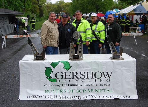 Gershow Recycling Donates the Use of 30 Cars for Tenth Annual Chuck Varese Vehicle Extrication Tournament