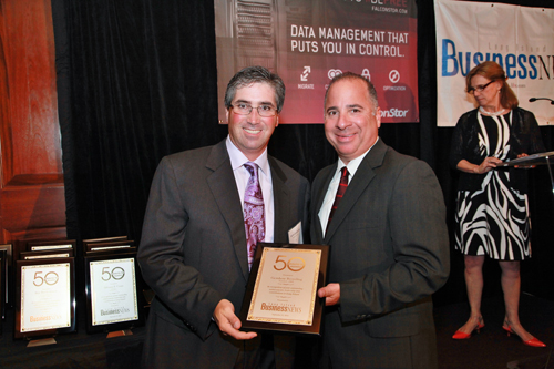 """, Gershow Honored at Long Island Business News' """"50 Around 50"""" Event"""