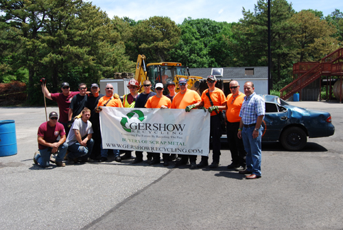 , Gershow Recycling Donates Use of 10 Vehicles for the Northeast Regional Vehicle Extrication Challenge