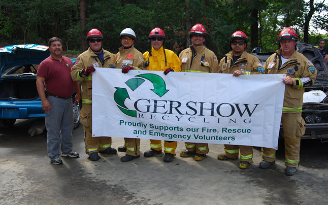 , Gershow Recycling Donates Use of 25 Vehicles for 2013 North American Vehicle Rescue Challenge