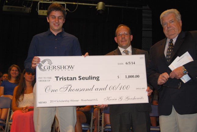 , Scholarships Awarded to Local Graduating High School Students