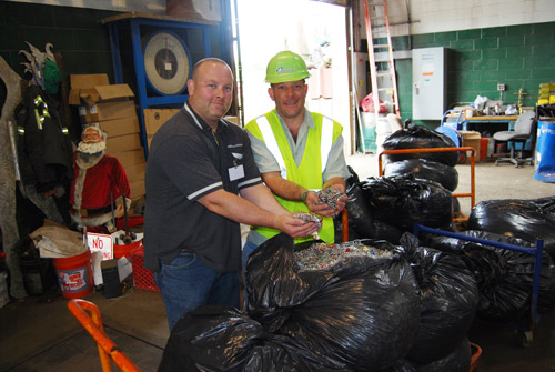 """, William Floyd Elementary School Brings 2 Million Can Tabs to Gershow Recycling's Medford Facility as Part of """"Can Tabs for Kids"""" Program"""