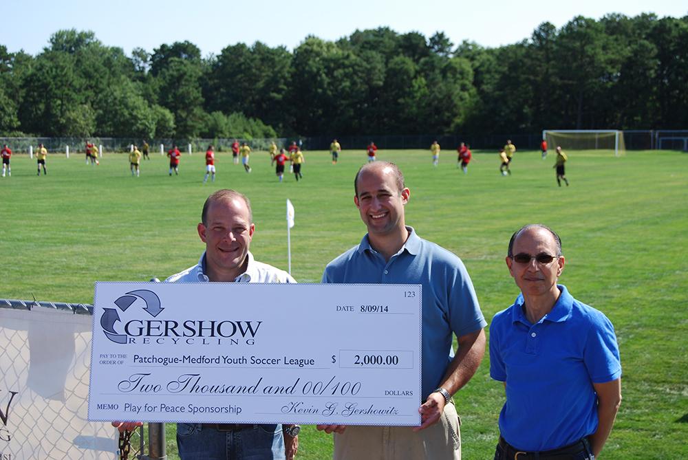 , Gershow Donates