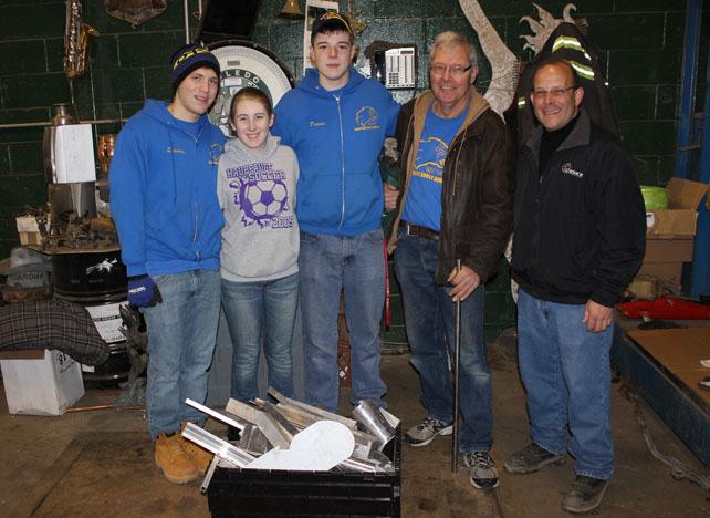 , High School Robotics Teams Receive  Aluminum Scrap from Gershow